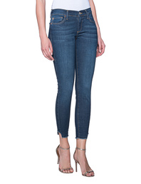 TRUE RELIGION Halle Broken Twill Blue Denim