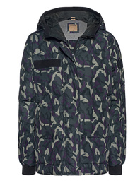 TRUE RELIGION Down Camouflage Night Shade
