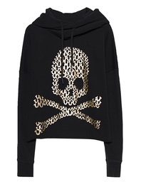 TRUE RELIGION Destroy Crop Black