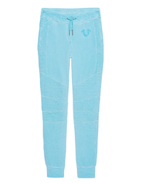 TRUE RELIGION Moto Fleece Pant Blue Radiance