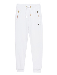 TRUE RELIGION Pant All Metal White