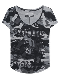 TRUE RELIGION Scoop Camo Black