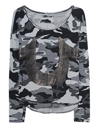 TRUE RELIGION Horseshoe Camo Black