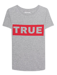 TRUE RELIGION Statement Grey Marl