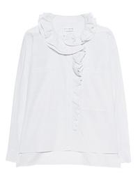 FAITH CONNEXION Oversize Ruff Shirt White