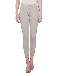 TRUE RELIGION Halle Crop Dyed Silver Cloud Beige
