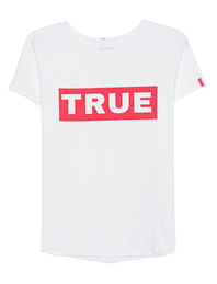 TRUE RELIGION Boxy Crew White
