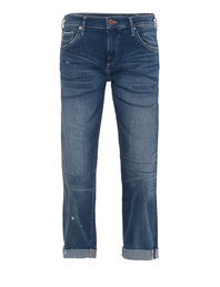 TRUE RELIGION Boyfriend Liv Selvage Blue