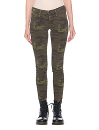 TRUE RELIGION Halle Camo Superstretch Olive