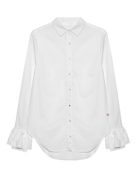TRUE RELIGION Tail Ruffle White