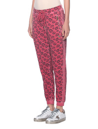 TRUE RELIGION Jogging Leo Print Red