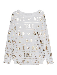 TRUE RELIGION Milky Longsleeve Off-White