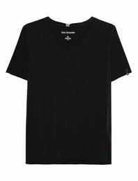 TRUE RELIGION V-Neck Clean Black