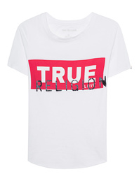 TRUE RELIGION Round Shirt White