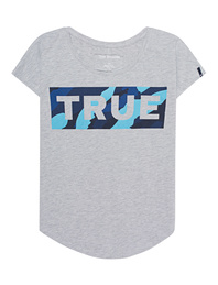 TRUE RELIGION Relax Block Grey