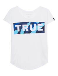 TRUE RELIGION Relax True Block White