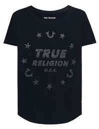 TRUE RELIGION True Stars Black