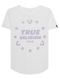 TRUE RELIGION True Stars White