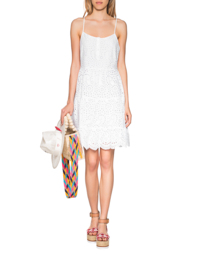 TRUE RELIGION Cotton Dress White