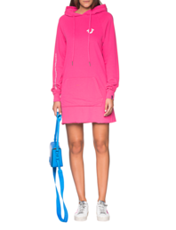 TRUE RELIGION Hood Dress Berry Pink