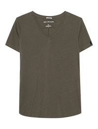 TRUE RELIGION V Neck Oliv