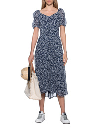 TRUE RELIGION Maxi Flowers Deep Blue