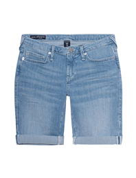 TRUE RELIGION Bermuda Halle Lightblue