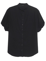 TRUE RELIGION Blouse Relax Black