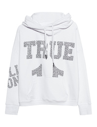 TRUE RELIGION Boxy True Rhinestones Whites