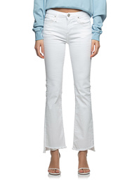 TRUE RELIGION Halle Kick Flare White