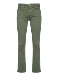 TRUE RELIGION Halle Kick Flare Wasabi Green