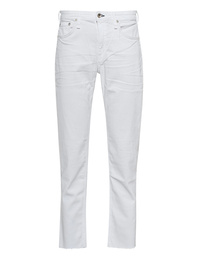 RAG&BONE Dre Low Rise Slim Boyfriend White
