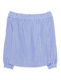 RAG&BONE Stripe Drew Top Blue