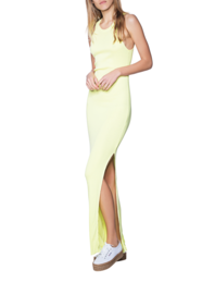 Cotton Citizen Maxi Ripped Yellow