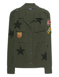 Amiri Military Star Olive