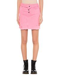 Amiri Skirt Fold Over Pink