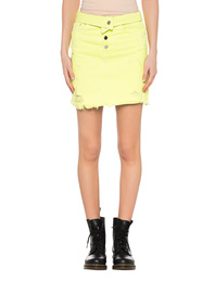 Amiri Skirt Fold Over Yellow