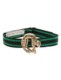 GABRIELE FRANTZEN Choker Panther Gold Green