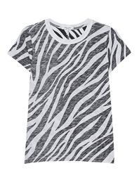 RAG&BONE Zebra All Over Black White