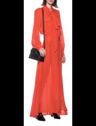 JACOB LEE Chiffon Dress Orange