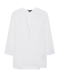 JAMES PERSE Plain Button V White