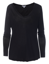 JAMES PERSE High Gauge Long Sleeve Black