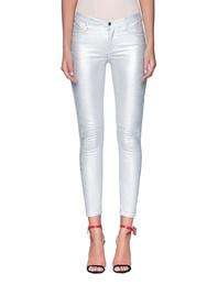 RTA  Crop Skinny Silver