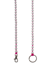 INA SEIFART Wooden Pearls White Pink