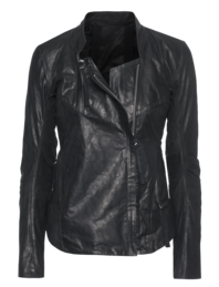BORIS BIDJAN SABERI Slim Leather Black
