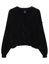 THOM KROM Knit Button Black
