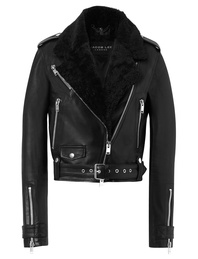 JACOB LEE Biker Jacket Black