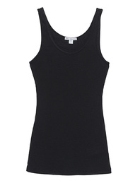 JAMES PERSE  Tank Ribbed Black