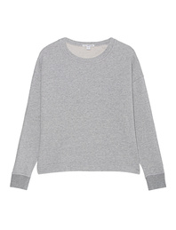 JAMES PERSE Sweat Round Heather Grey
