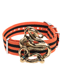 GABRIELE FRANTZEN Snake Candy Gold Orange